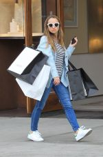 JENNIFER MEYER Out Shopping in Los Angeles 12/23/2017