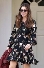 JESSICA BIEL Out and About in Beverly Hills 12/11/2017