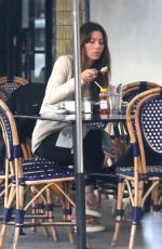 JESSICA BIEL Out for Lunch in Hollywood 12/02/2017