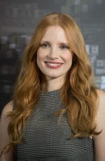 JESSICA CHASTAIN at Mollys Game Photocall in Berlin 12/05/2017