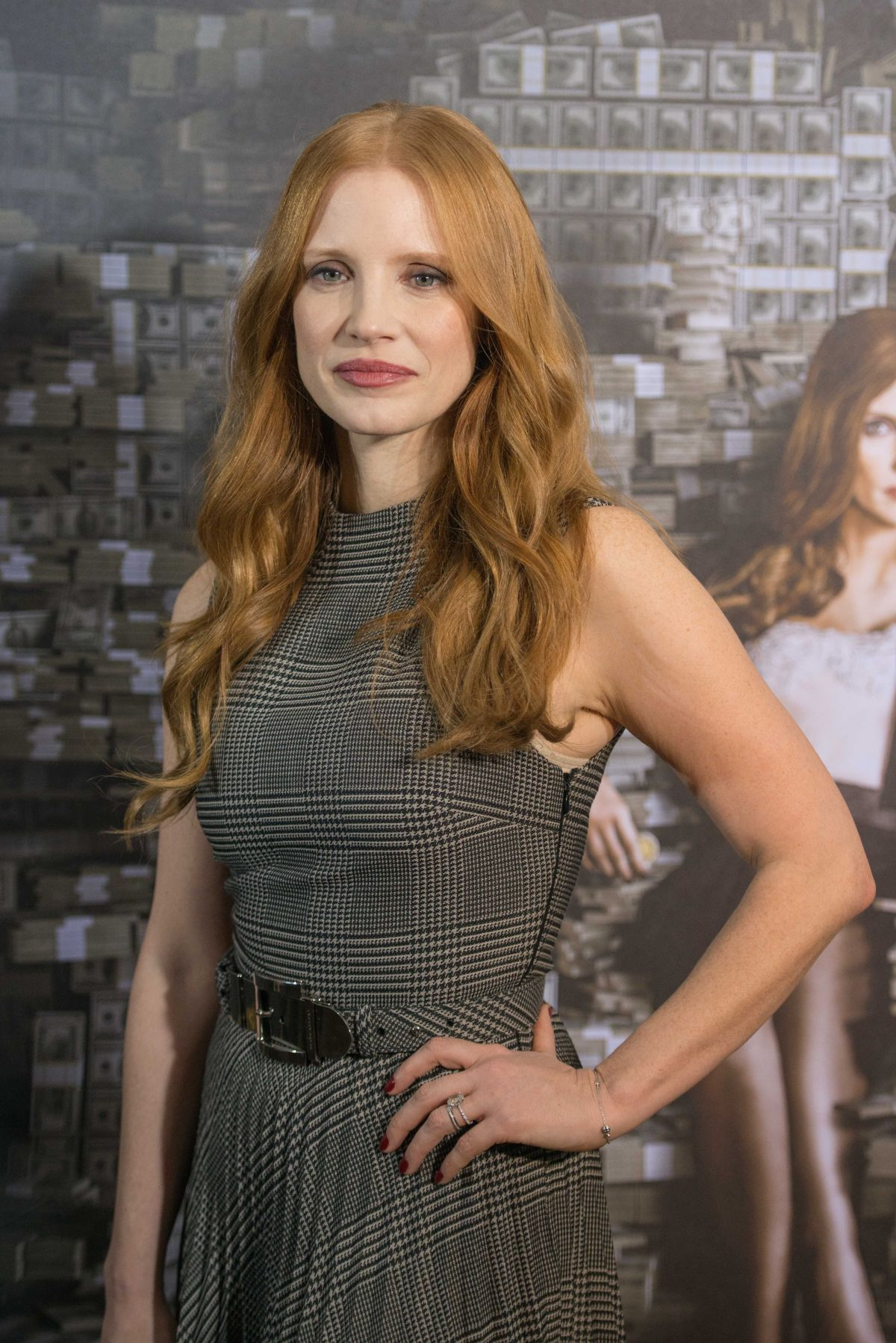 JESSICA CHASTAIN at Mollys Game Photocall in Berlin 12/05 ... Jessica Chastain