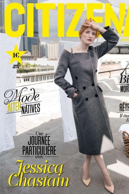JESSICA CHASTAIN in Citizen K Magazine, December 2017 Issue