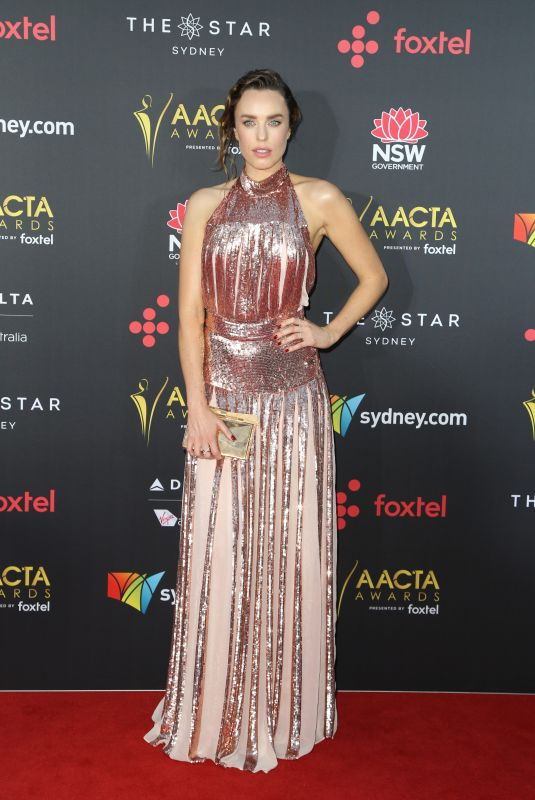JESSICA MCNAMEE at 2017 AACTA Awards in Sydney 12/06/2017
