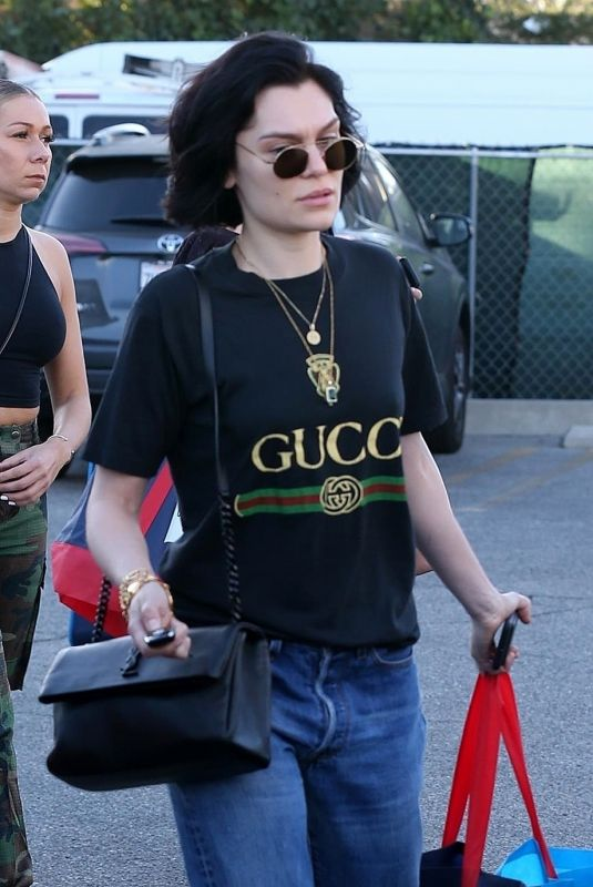 JESSIE J Out Shopping in West Hollywood 12/13/2017