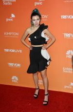 JESSIE PAEGE at Trevor Project's 2017 Trevorlive Gala in Los Angeles 12/03/2017