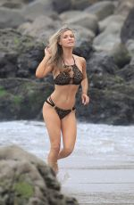 JOANNA KRUPA in Bikini at a Beach in Malibu 12/09/2017