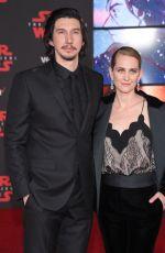 JOANNE TUCKER at Star Wars: The Last Jedi Premiere in Los Angeles 12/09/2017