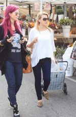 JODIE SWEETIN at Farmers Market in Studio City 12/10/2017