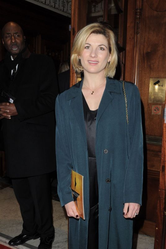 JODIE WHITTAKER at Hamilton Musical Press Night in London 12/21/2017