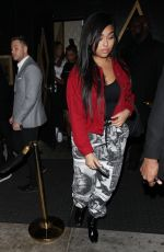 JORDYN WOODS at Bootsy Bellows in West Hollywood 12/16/2017