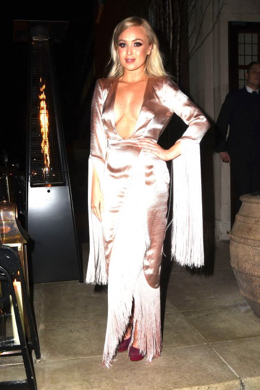 JORGIE PORTER at Her Birthday Party in London 12/22/2017