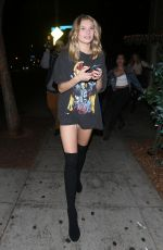 JOSIE CANSECO at Delilah Club in West Hollywood 12/28/2017
