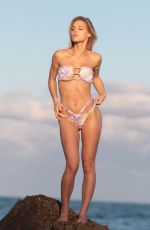 JOY CORRIGAN in Bikini for La Gotta Swimwear in Miami 12/10/2017