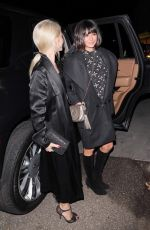 JULIANNE HOUGH and NINA DOBREV Arrives at a Party in Los Angeles 12/02/2017