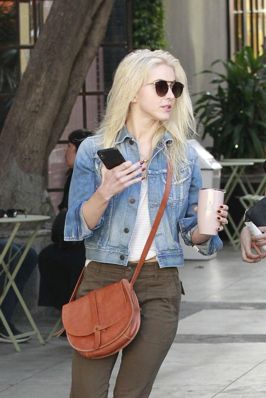 JULIANNE HOUGH Out in West Hollywood 11/30/2017