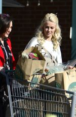JULIANNE HOUGH Shopping at Whole Foods Market in Los Angeles 12/25/2017