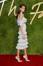 KAIA GERBER at Fashion Awards 2017 in London 12/04/2017