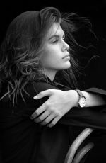 KAIA GERBER for Omega Watches, 2017