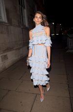 KAIA GERBER Leaves Fashion Awards 2017 in London 12/04/2017
