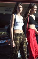 KAIA GERBER Out and About in Los Angeles 11/30/2017