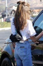 KAIA GERBER Out for Breakfast in Malibu 12/28/2017