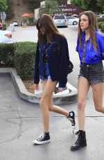 KAIA GERBER Out in Los Angeles 12/10/2017
