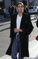 KAIA GERBER Out Shopping in Beverly Hills 12/21/2017