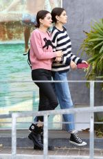 KAIA GERBER Shopping at Urban Outfitters in Los Angeles 12/22/2017