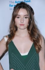 KAITLYN DEVER at 2017 Looking Ahead Awards in Hollywood 12/05/2017