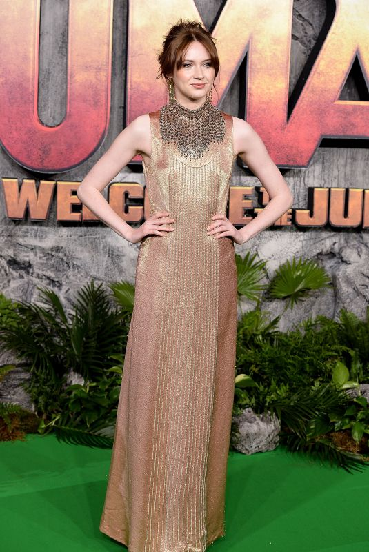 KAREN GILLAN at Jumanji: Welcome to the Jungle Premiere in London 12/07/2017