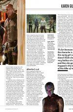 KAREN GILLAN in Total Film Magazine, January 2018 Issue