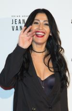 KARIMA CHARMI at Jean-Claude Van Johnson Premiere in Paris 12/12/2017