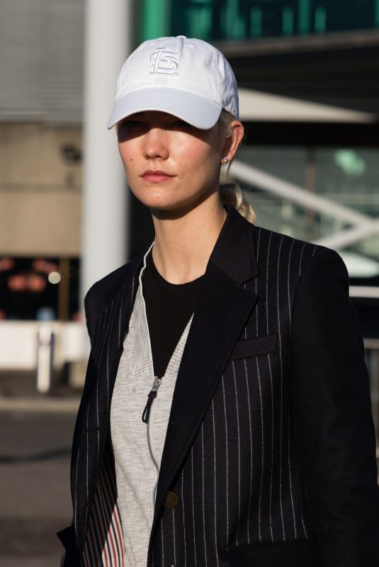 KARLIE KLOSS Arrives at Heathrow Airport in London 11/30/2017
