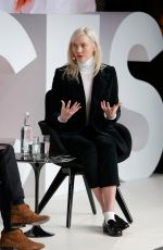 KARLIE KLOSS at #bofvoices in Oxford 11/30/2017