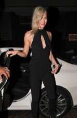 KARLIE KLOSS at Chiltern Firehouse in London 12/04/2017