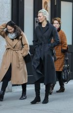 KARLIE KLOSS Out and About in New York 12/14/2017