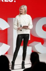 KARLIE KLOSS Speaks at #bofvoices in Oxford 12/01/2017