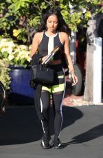 KARRUECHE TRAN in Tights Out in West Hollywood 12/19/2017