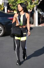 KARRUECHE TRAN Out for Lunch at Fred Segal in West Hollywood 12/19/2017