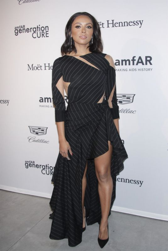 KAT GRAHAM at Amfar Generationcure: Holiday Party in New York 12/01/2017