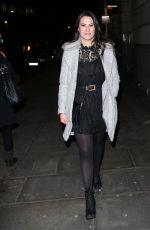 KAT SHOOB Arrives at Global Radio Christmas Party in London 12/13/2017