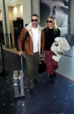 KATE BOSWORTH and Michael Polish at Los Angeles International Airport 12/04/2017