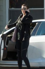 KATE HUDSON Arrives at a Gym in Los Angeles 12/08/2017