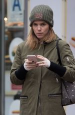 KATE MARA Out and About in New York 12/12/2017
