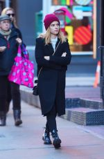 KATE MARA Out Shopping in New York 12/07/2017