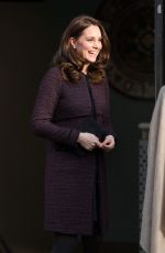 KATE MIDDLETON at a Community Christmas Party at Rugby Portobello Trust in London 12/12*2017