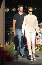 KATE UPTON and Justin Varlander Shopping at CVS in Beverly Hills 12/21/2017