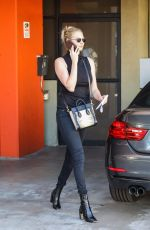 KATE UPTON Out and About in Santa Monica 12/08/2017