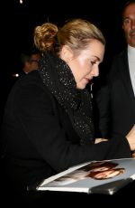 KATE WINSLET Arrives at Late Show with Stephen Colbert in New York 11/29/2017