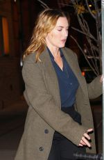 KATE WINSLET Out and About in New York 11/30/2017